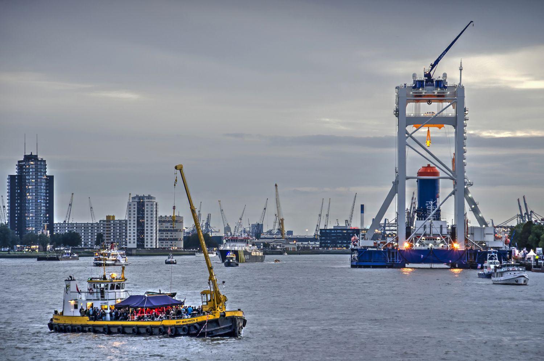 Industrieller Hafen